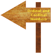 ordinal and cardinal numbers